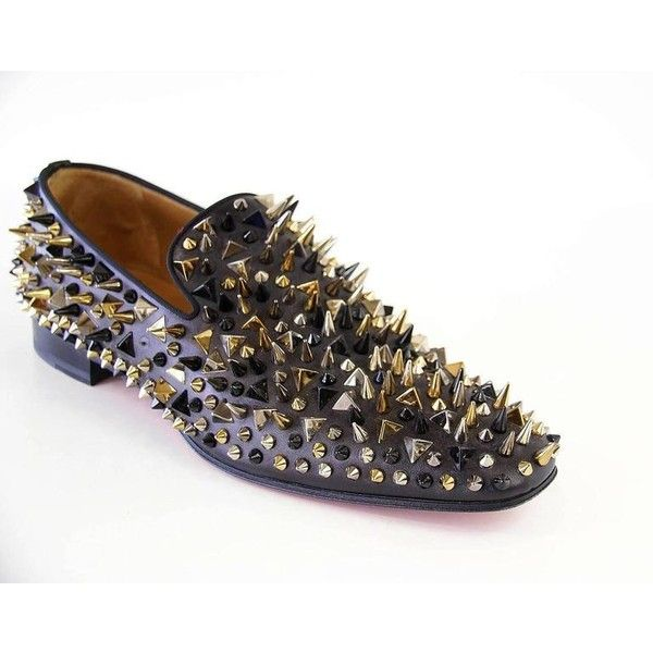 74488426d13 ... netherlands christian louboutin mens dandy pik pik flat calf brosse  loafer gg liked on polyvore featuring