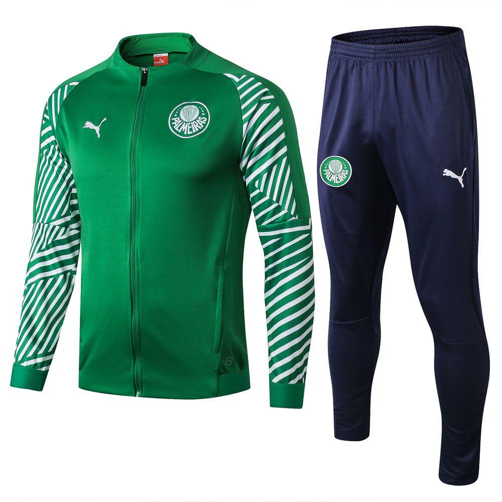 Palmeiras 20192020 Green Jacket Tracksuit Full