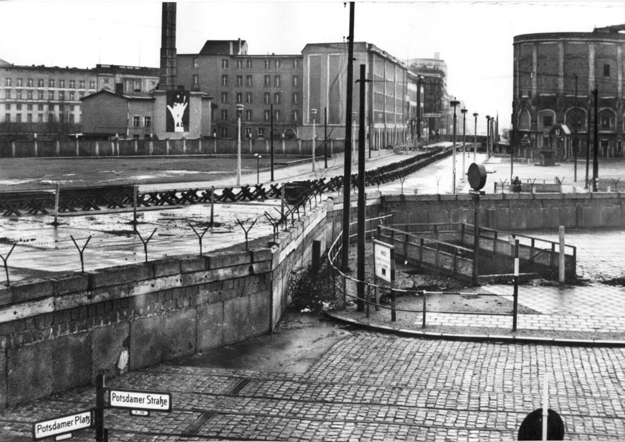 Potsdamer Platz 1965 FOTO HISTORISCHE SAMMLUNG DER