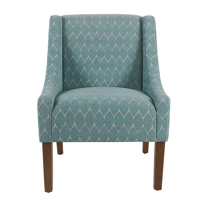 Homepop Swoop Accent Chair Accent Chairs Homepop Bergere Chair