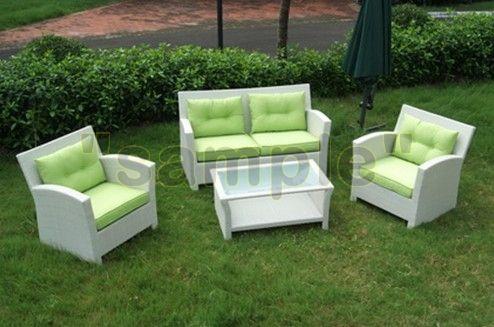 sofa rotan sintetis Kursi, Furniture