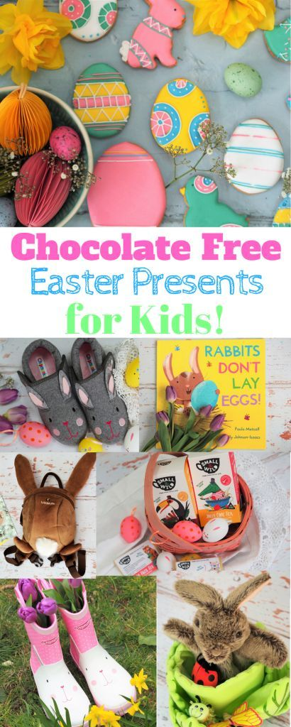 Chocolate free easter presents ideas for children easter and child negle Choice Image