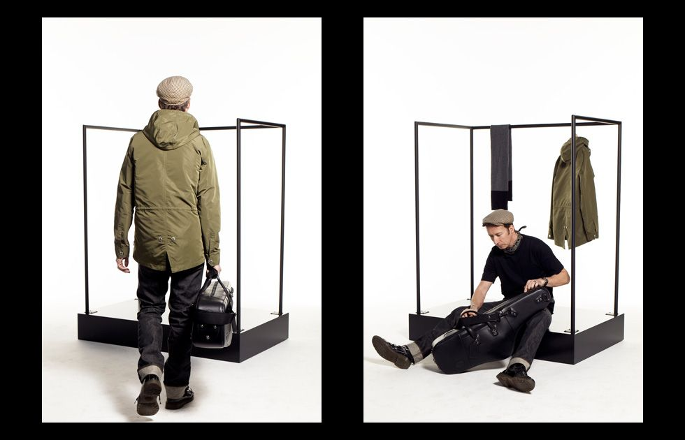 FALL '13 Stussy Deluxe Lookbook - Stuart Matthewman