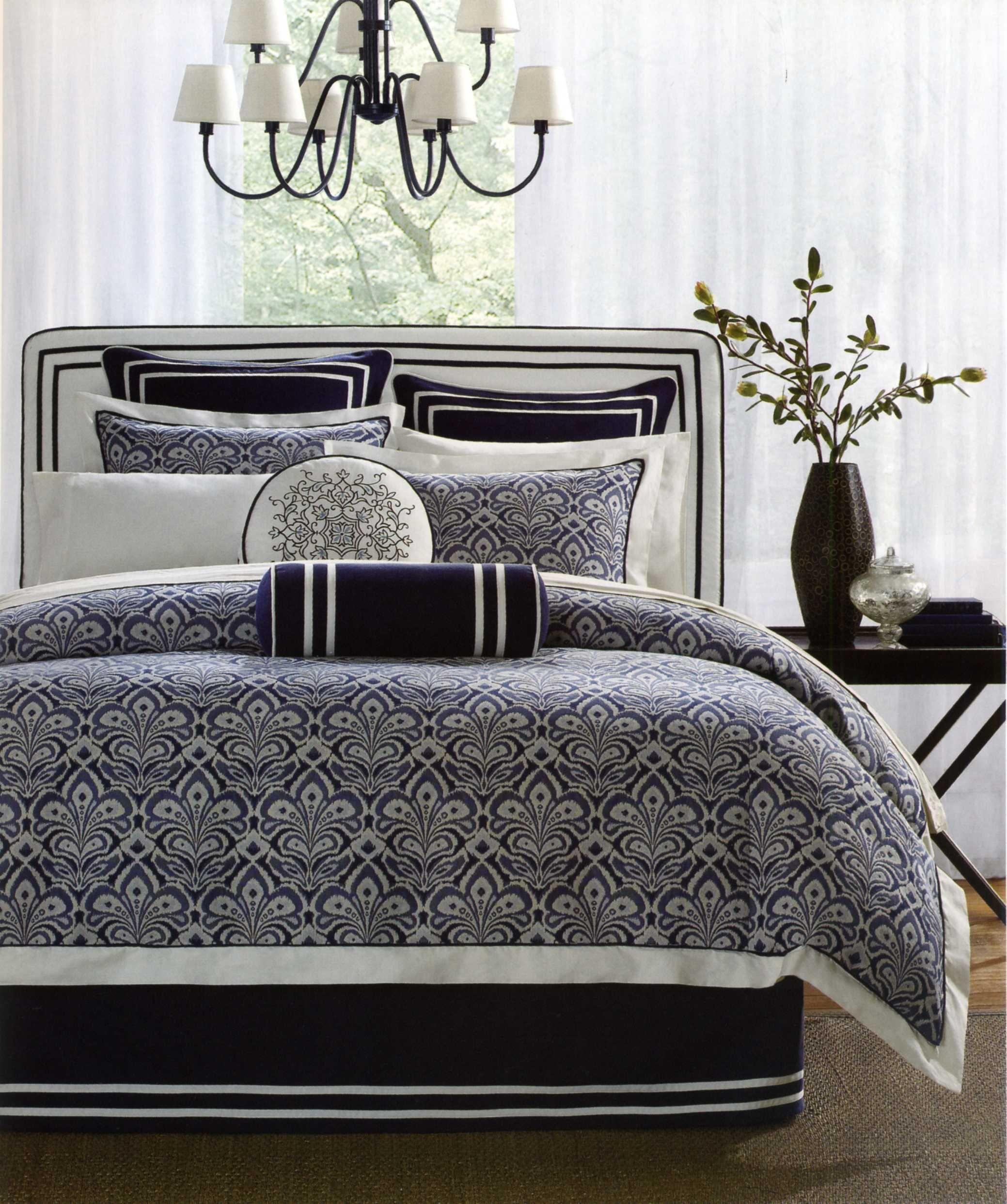 Laurel Hill Comforter Set Blue And White Bedding White Bed Set