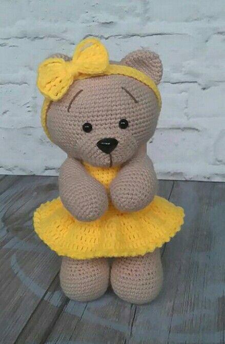 PDF Плюшевый мишка. FREE amigurumi crochet pattern. Бесплатный мастер-класс, схема описание для вязания амигуруми крючком. Вяжем игрушки своими руками! Медведь, мишка, медведица, медвежонок, teddy bear, suportar, bär, ours, medvěd, medvídek, nallebjörn. #амигуруми #amigurumi #amigurumidoll #amigurumipattern #freepattern