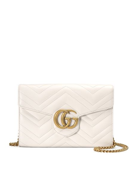 2a119b8b314 GUCCI Gg Marmont Mini Matelassé Chain Bag