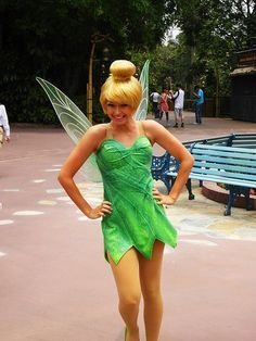 Image result for womens tinkerbell costume  sc 1 st  Pinterest & Image result for womens tinkerbell costume | Halloween | Pinterest ...