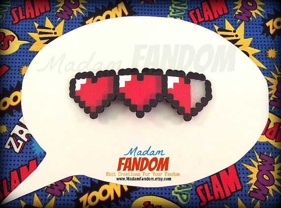 Gamer Heart Hair Clip Or Pin Valentines Day Gift Video Game Wedding