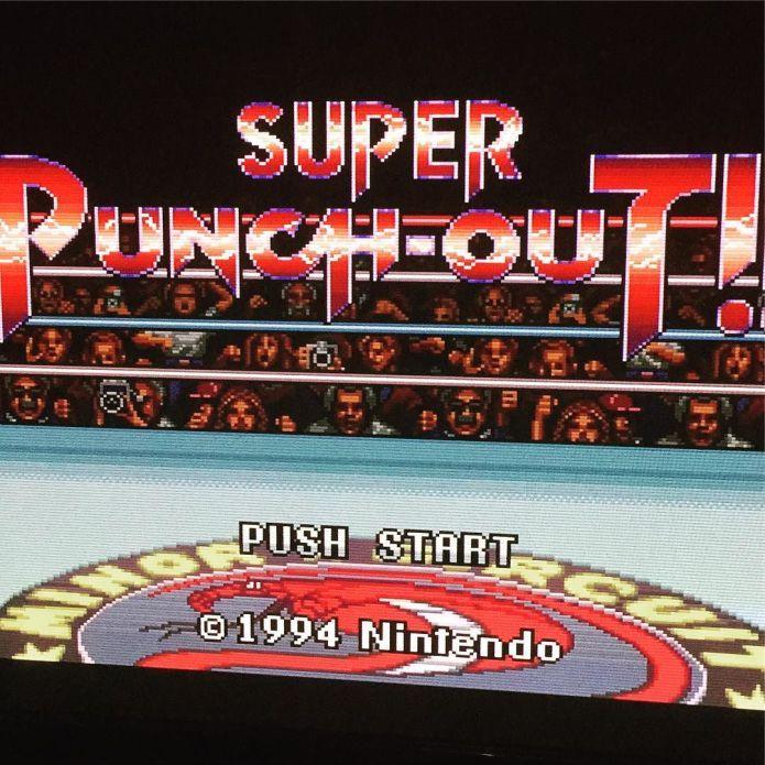 #Flashback in die #90s #SuperNintendo #SNES #Nintendo #NinstaGram #InstaGamer #PunchOut