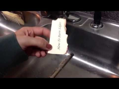How To Burn the Edges of Paper!