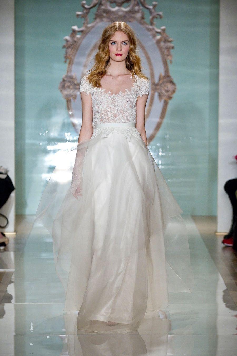 From Runway to Real Wedding: A Classic Affair | Vestidos de novia ...