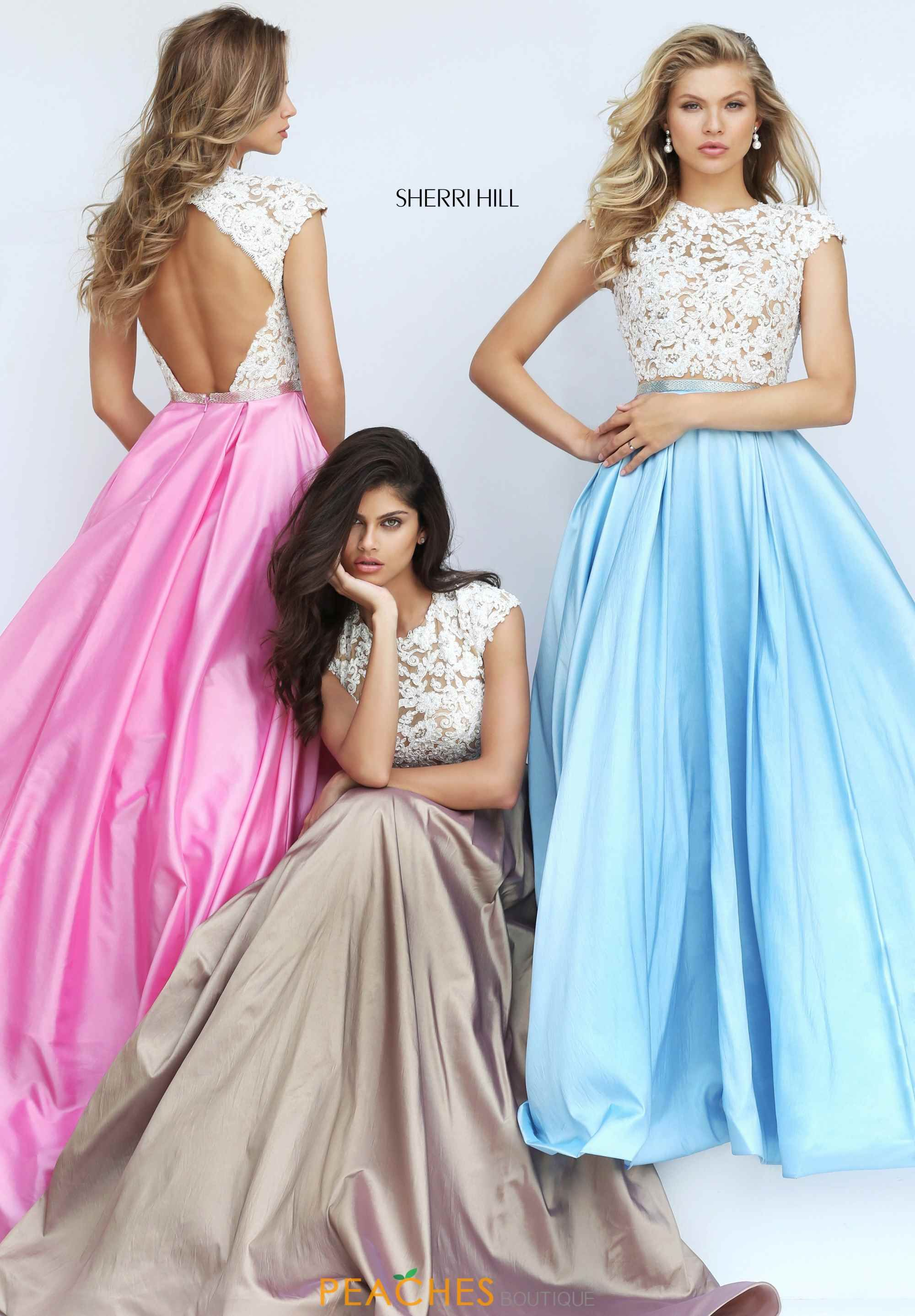 Sherri hill beaded long dress sherri hill dresses