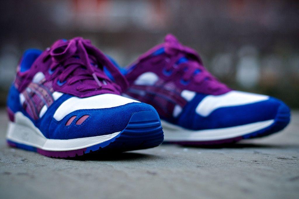 Asics Gel Lyte III - Blue/Purple (via. shop.kithnyc.com)