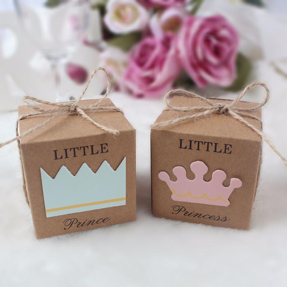 10 Stücke Kraft Papier Geschenkbox Süßigkeitskästen Baby