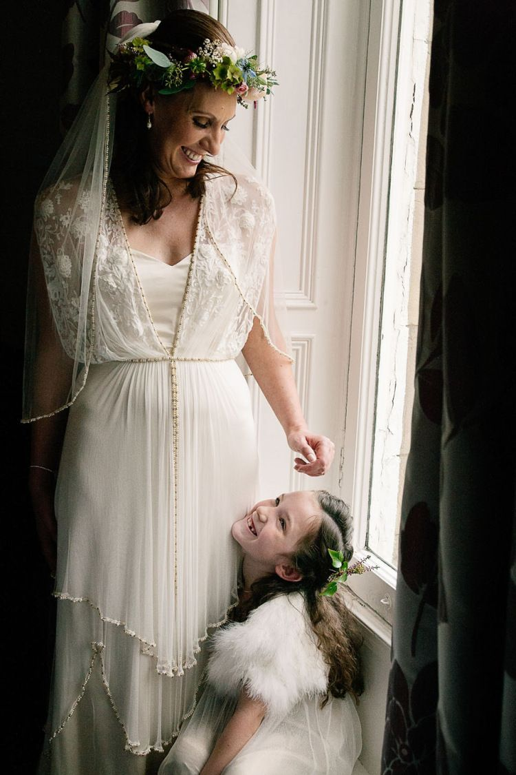 Beach wedding dress under 500  A Catherine Deane Gown for a Locally Sourced and Seasonally Grown