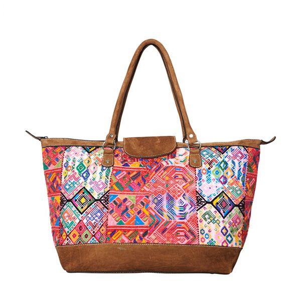 MARYSAL #SHOPPER #BIG #nahuala #huipil #handwoven #bags #guatemala ...