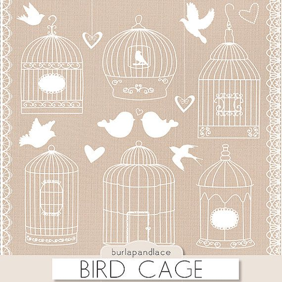 Birdcage Clip Art Clipart Bird Cage Clip Art Clipart Lace Clipart Lace Border Wedding Invitation Wedding Clipart Instant D Art Clipart Clip Art Bird Cage