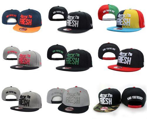 Sorry IM Fresh Snapback Adjustable Cap Hats Hip Hop Hat  0225b0bde44