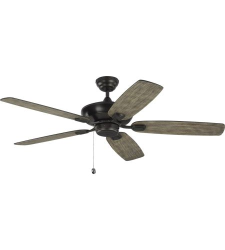 Monte Carlo Fans 5com52agp Colony Max 52 Inch Aged Pewter With