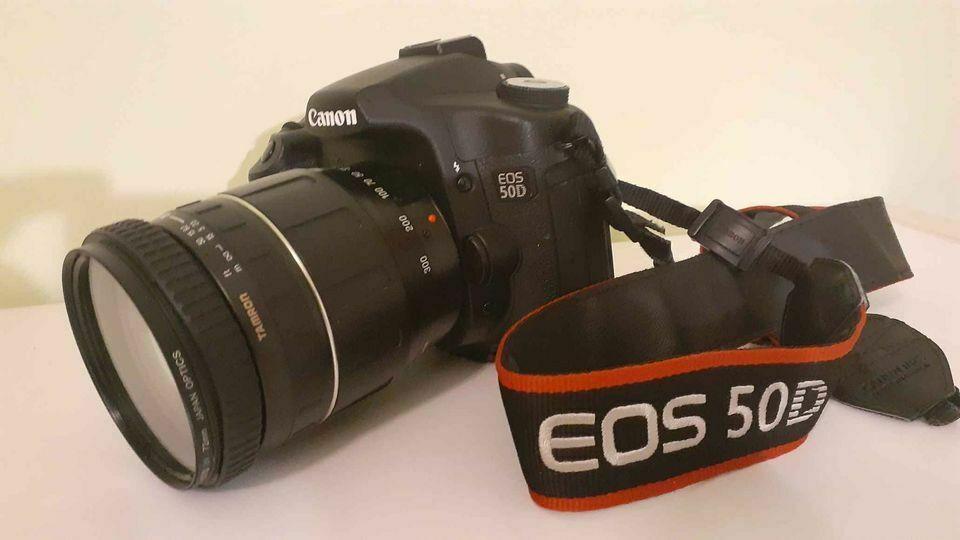 Canon Eos 50d Dsrl Camera With 28 300 Mm Lens Ebay Eos Canon Eos Canon