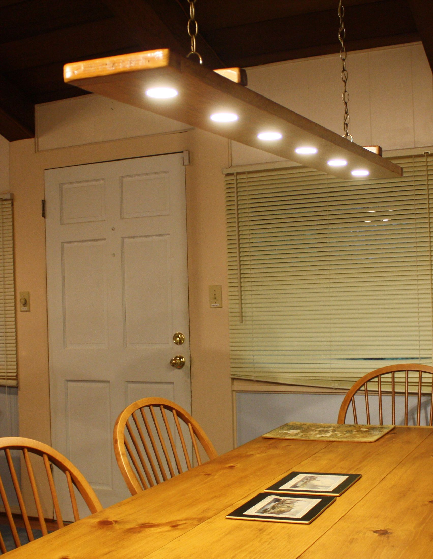 Rustic Dining Room Light For Under 100 Combine A Nice Piece Of