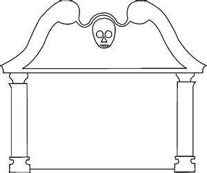 Tombstone templates bmps more templates on this site for Tombstone templates for halloween