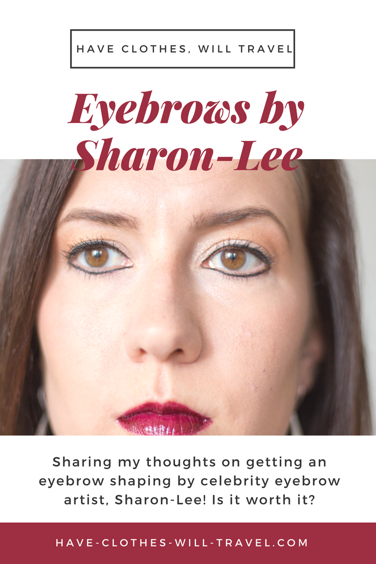My Experience With Celebrity Eyebrow Artist Sharon Lee Pinterest