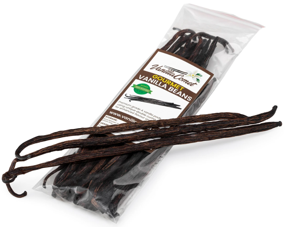 Png Vanilla Tahitensis Beautiful Beans Highly Fragrant And Floral We Have Both Grade A Pictured Here In St Vanilla Bean Frosting Gingerbread Cake Vanilla Bean