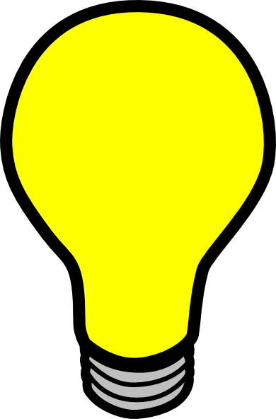 light bulb clip art vector clip art online royalty free rh pinterest com free clip art lightbulb ideas free clipart light bulb with candle