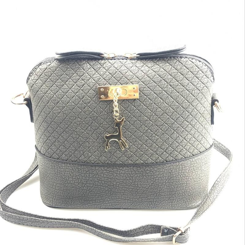 ea0ef9640dad3 Luxury Handbags Women Bags Leather Designer 2018 Women Crossbody Shoulder  Messenger Bags Shell Shape Lady Mini Bag With Deer Toy