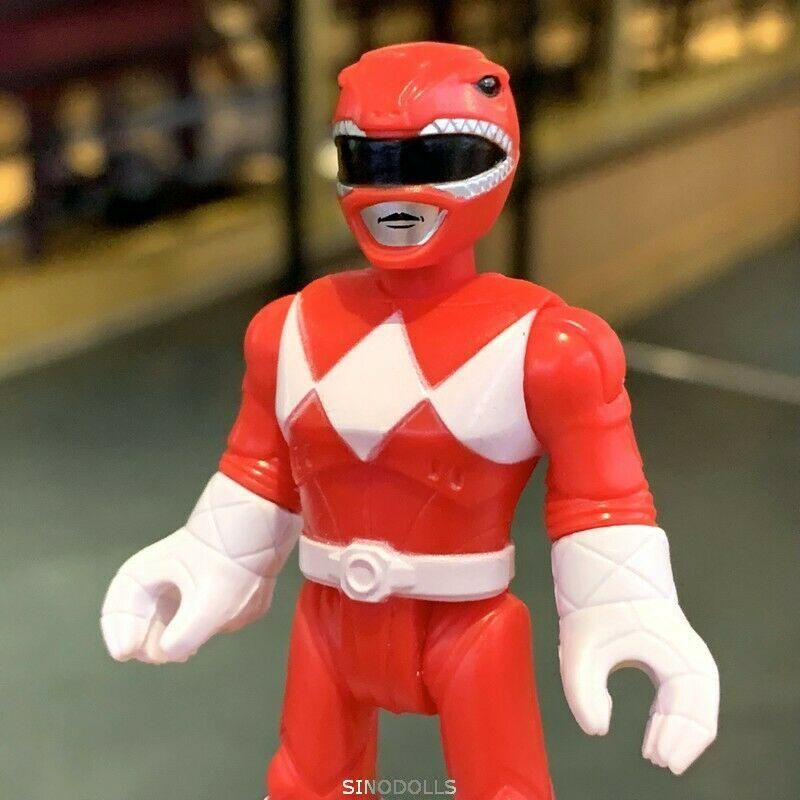 Fisher-Price Imaginext Power Rangers Red Ranger Action Figure Collection toy