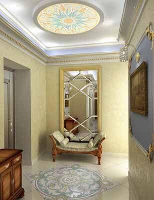 Light Entryway Decorating Ideas, 3d Models, Entryway Designs | Foyer ...