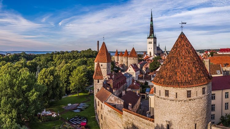 Tallinn Old Town towers and town wall (Image Credit: Tallinn City Tourist Office & Convention Bureau and Kaupo Kalda)