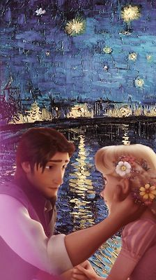Disney meets Van Gogh - Tangled