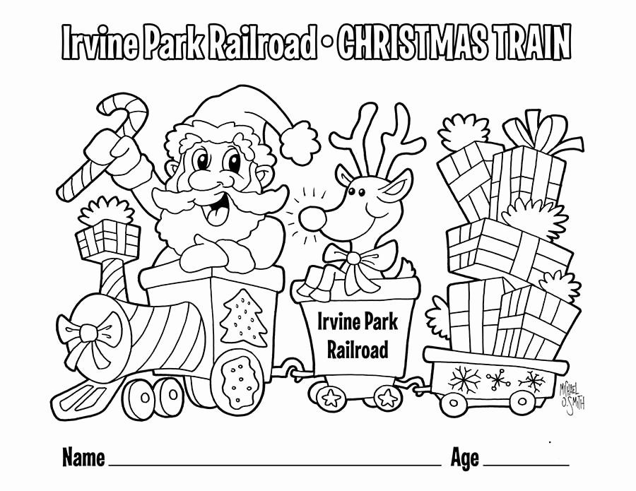Holiday Train Coloring Pages Fresh Christmas Train Coloring Pages