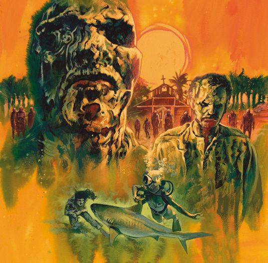 Horror Artist Takes On Zombie Flesh Eaters Zombies