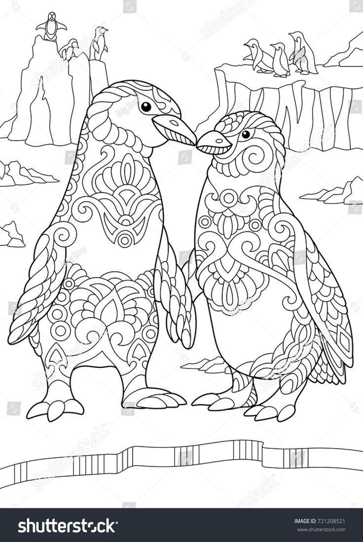 78 Inspirational Images Of Penguins Coloring Sheets Ausmalbilder Ausmalen Ausmalbilder Tiere