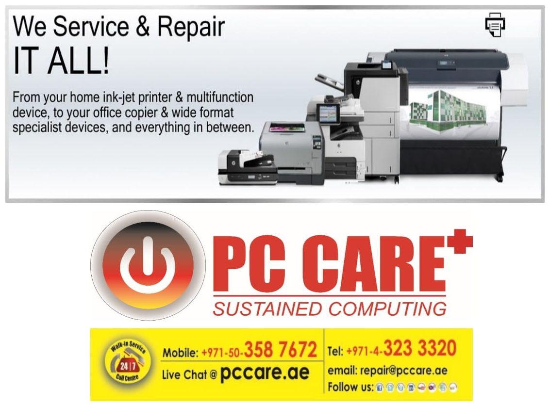PCCARE DUBAI Printer Repair in Dubai Express OnSite