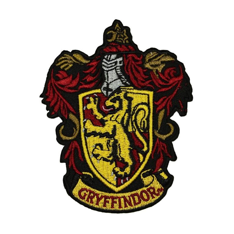 Harry Potter Gryffindor Iron On Patch Walmart Com Gryffindor Crest Harry Potter Patch Gryffindor