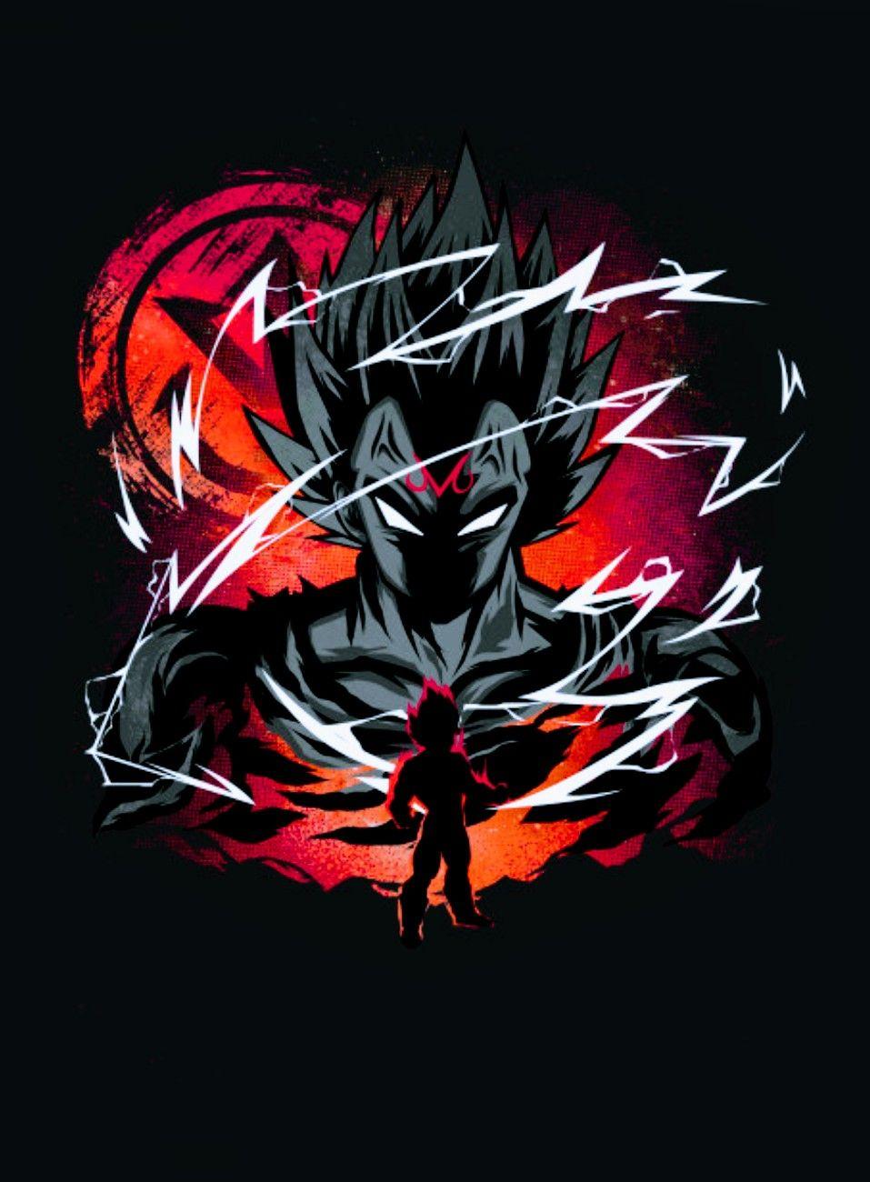 Majin Vegeta, Dragon Ball Super Anime dragon ball super
