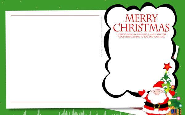 Christmas Card Templates for You to DIY Christmas Greeting E Cards - christmas card templates word