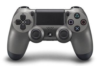 Dualshock 4 Wireless Controller Steel Black Playstation 4