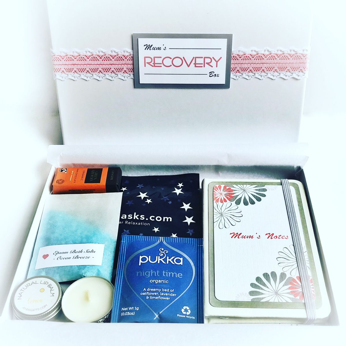 Letterbox Hamper Gift. Recovery Box. Cheering up. Mum gift. Get well soon.