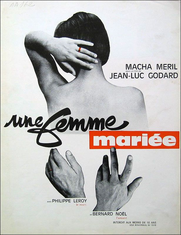 Une femme mariée, Jean Luc Godard