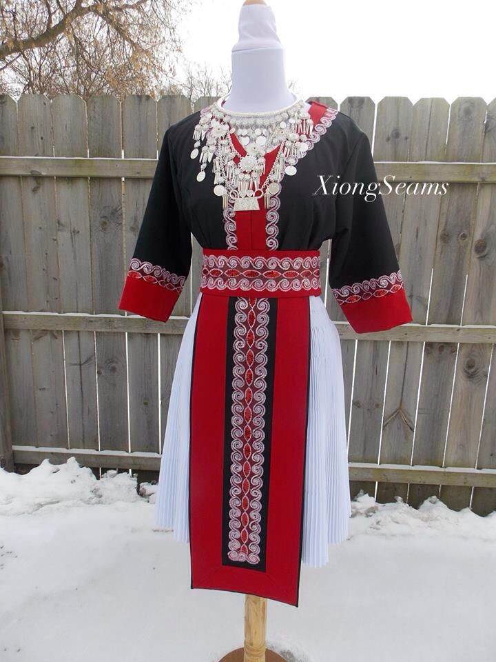86f58630d Hmong clothes. Traditional design with modern details. XiongSeams etsy shop.