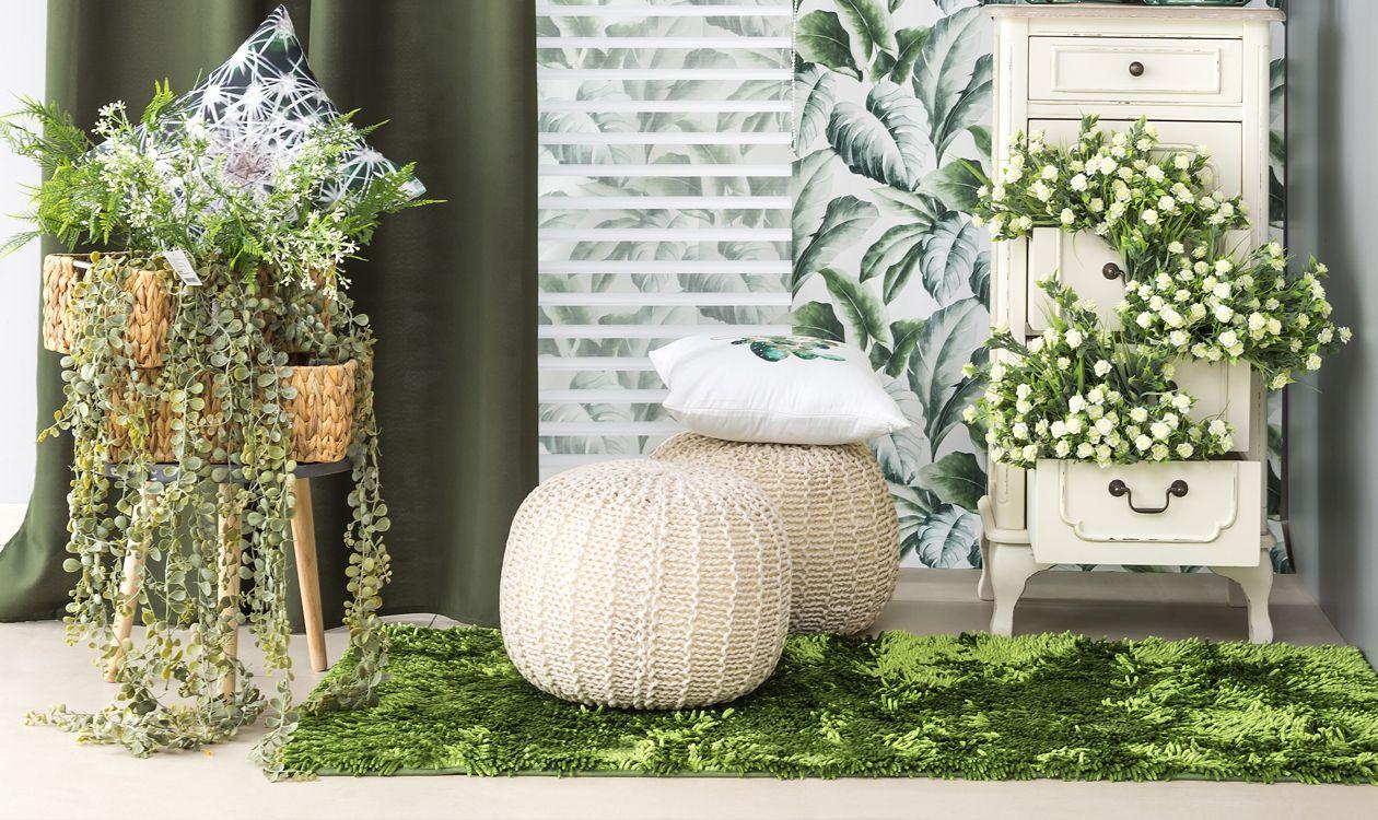 Urban Jungle W Twoim Domu Firany Zaslony W Kwiaty Do Salonu Kuchni Czy Sypialni Ladder Decor Decor Home