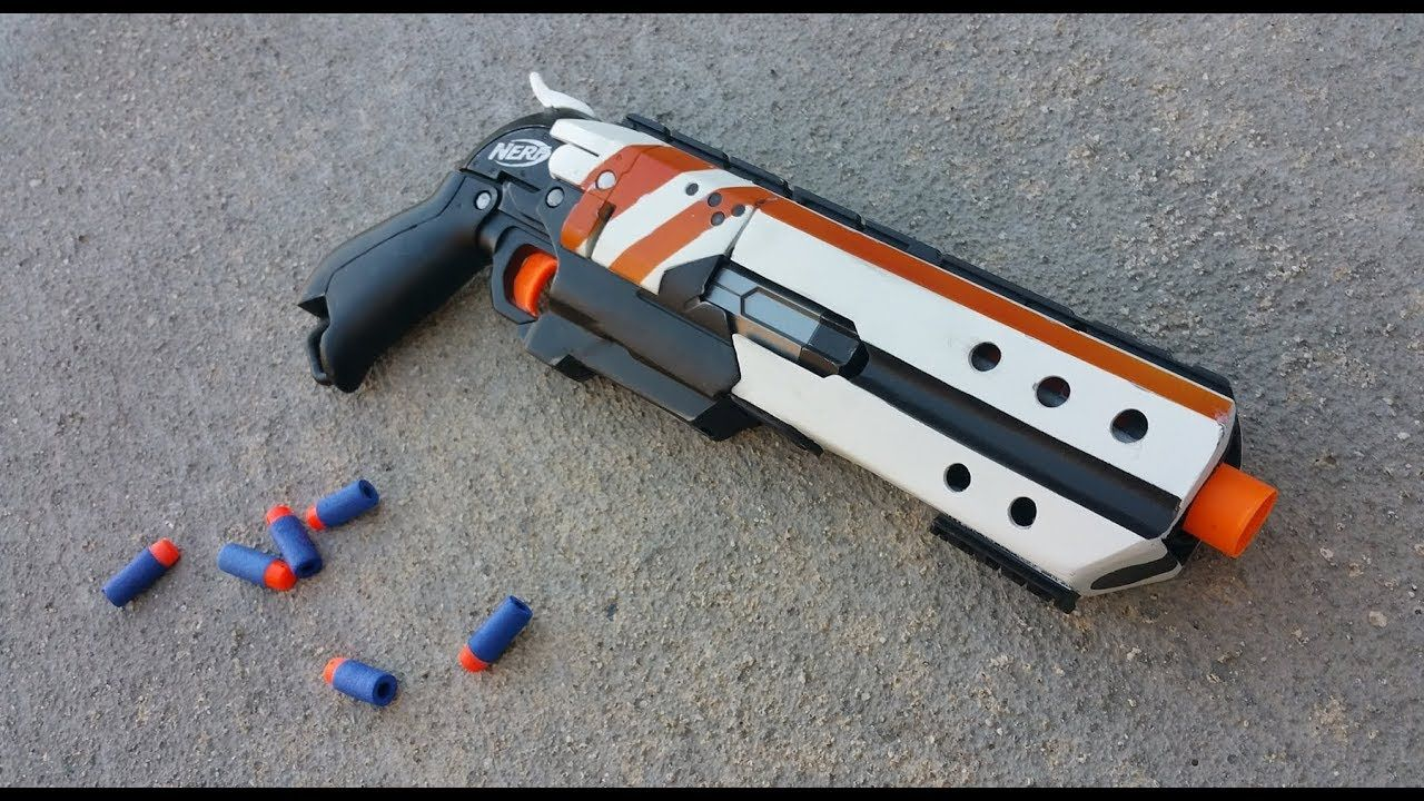 Break Action Hammershot Overview | Nerf Mods and more | Nerf