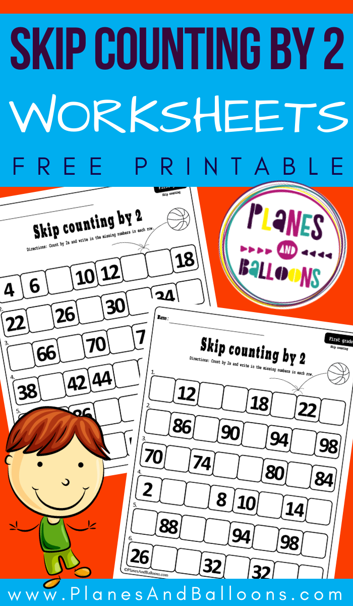 Skip Counting By 2 Worksheets First Grade Math Worksheets Skip Counting By 2 Counting By 2 [ 1200 x 700 Pixel ]