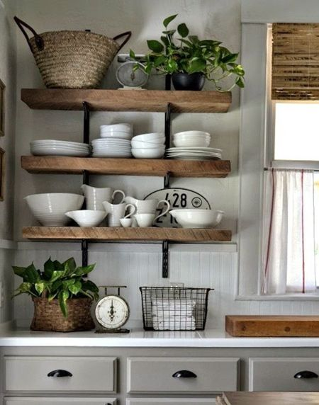 Easy Solid Wood Shelf Ideas That You Can Diy Muebles