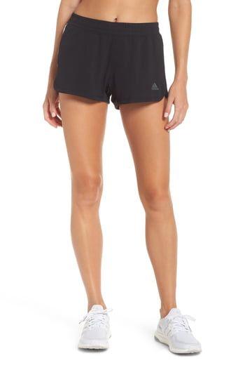 adidas Pacer 3 Stripes Knit Short grijs | adidas Belgium